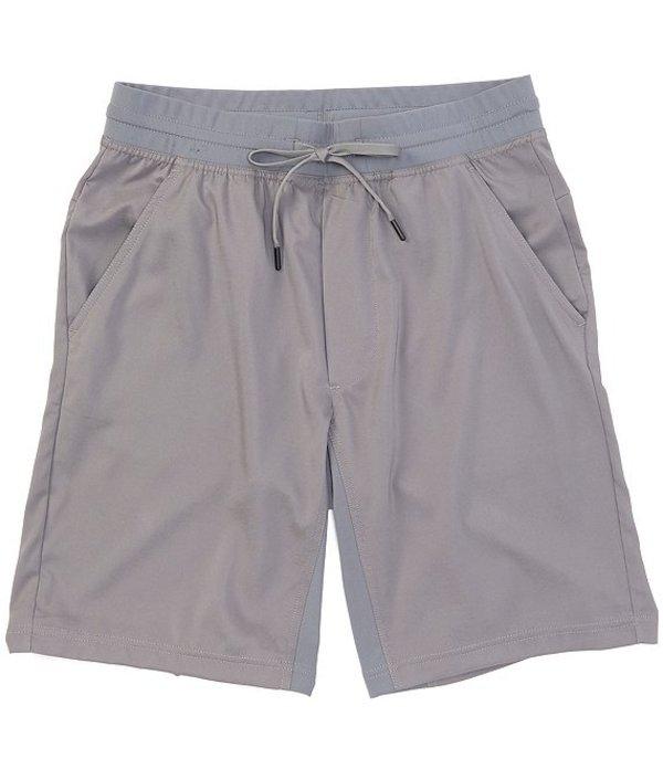 ラウンドトゥリーアンドヨーク メンズ ハーフパンツ・ショーツ ボトムス Performance 10#double; Inseam Flat Front Pull-on Shorts Medium Grey