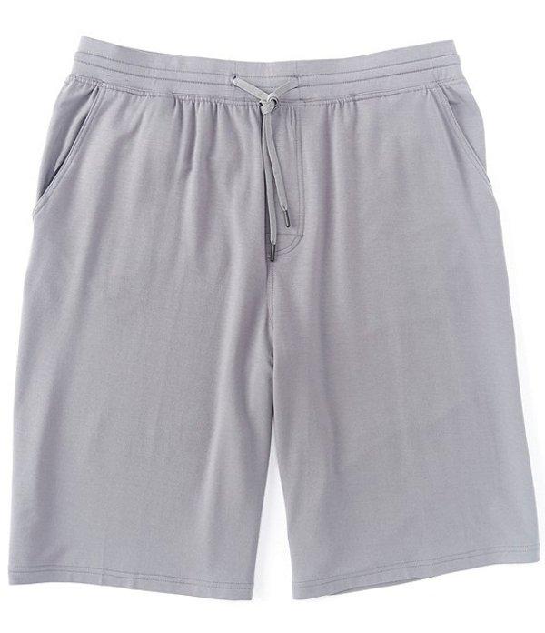 ラウンドトゥリーアンドヨーク メンズ ハーフパンツ・ショーツ ボトムス Performance 10#double; Inseam Flat Front Knit Pull-on Shorts Medium Grey
