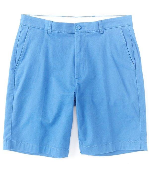 ラウンドトゥリーアンドヨーク メンズ ハーフパンツ・ショーツ ボトムス 9#double; Inseam Flat Front Washed Chino Shorts Blue
