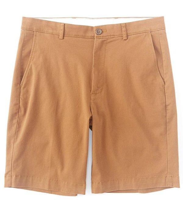ラウンドトゥリーアンドヨーク メンズ ハーフパンツ・ショーツ ボトムス 9#double; Inseam Flat Front Washed Chino Shorts Copper
