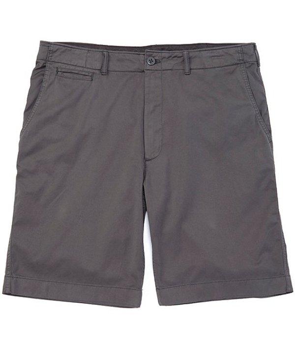 ダニエル クレミュ メンズ ハーフパンツ・ショーツ ボトムス Cassis Flat-Front Garment-Dyed 10#double; Inseam Shorts Grey