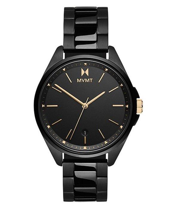 エムブイエムティー レディース 腕時計 アクセサリー Coronada Vipress Black Stainless Steel Bracelet Watch Black