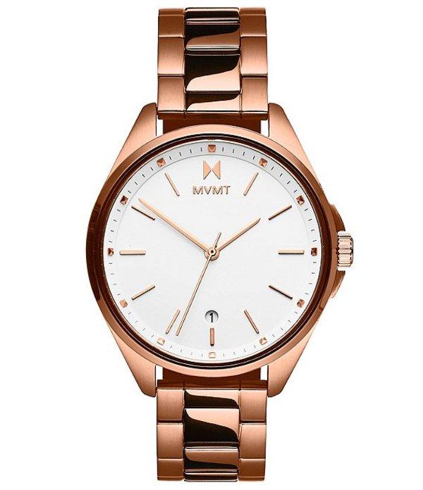 エムブイエムティー レディース 腕時計 アクセサリー Coronada Aurora Rose Gold Stainless Steel Bracelet Watch Rose Gold