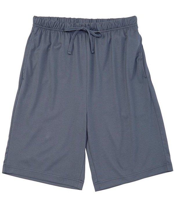 ハート シャフナー マルクス メンズ ハーフパンツ・ショーツ ボトムス Solid Knit Pajama Shorts Blue Grey