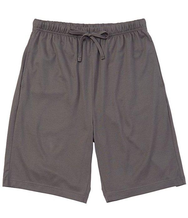 ハート シャフナー マルクス メンズ ハーフパンツ・ショーツ ボトムス Solid Knit Pajama Shorts Dark Granite