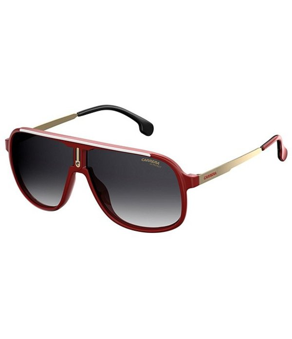 カレーナ メンズ サングラス・アイウェア アクセサリー 1007/S Aviator 62mm Sunglasses Red