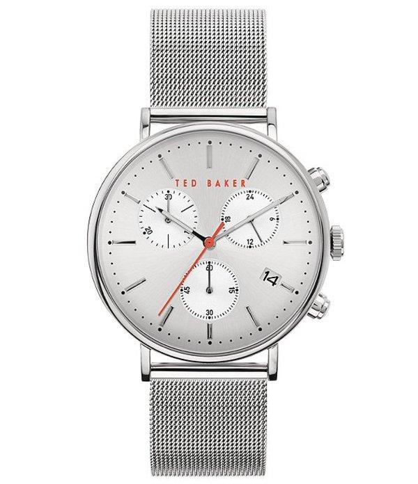 テッドベーカー メンズ 腕時計 アクセサリー Mimosaa Silver Chronograph Watch Silver