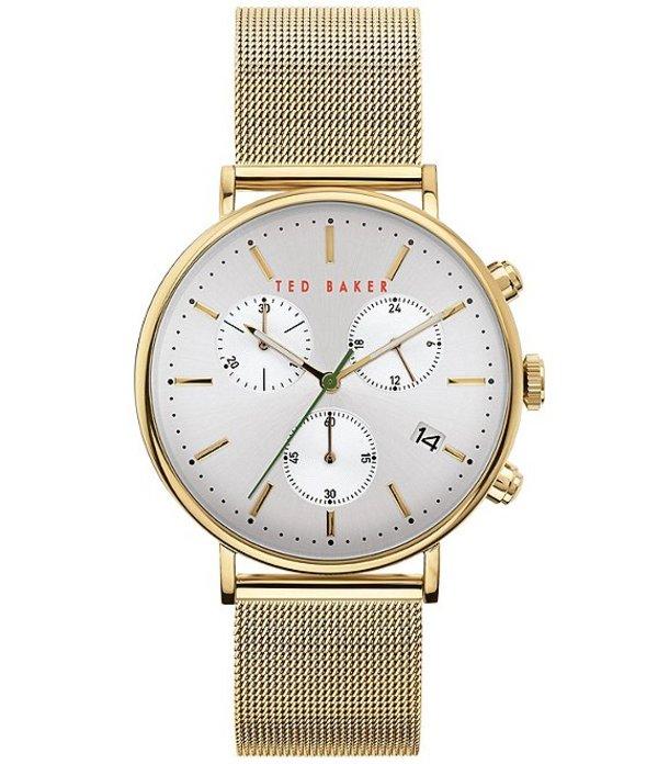 テッドベーカー レディース 腕時計 アクセサリー Mimosaa Gold Chronograph Watch Gold