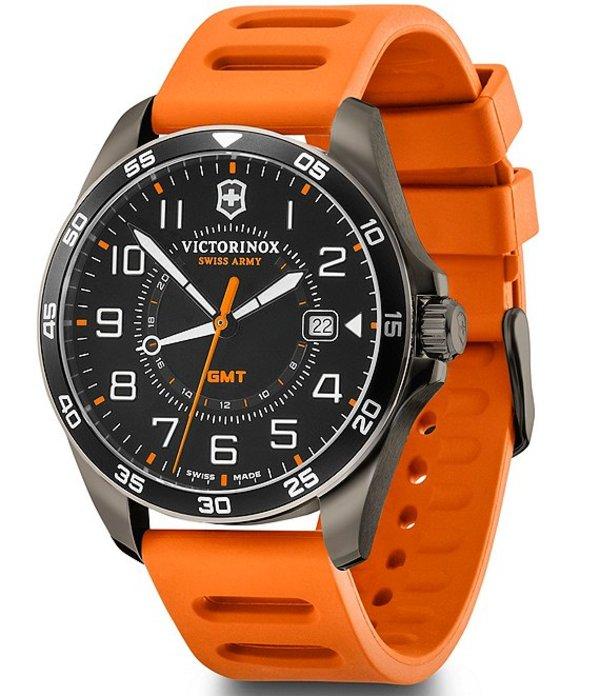 ビクトリノックス メンズ 腕時計 アクセサリー Field Force Sport Chronograph Watch Orange