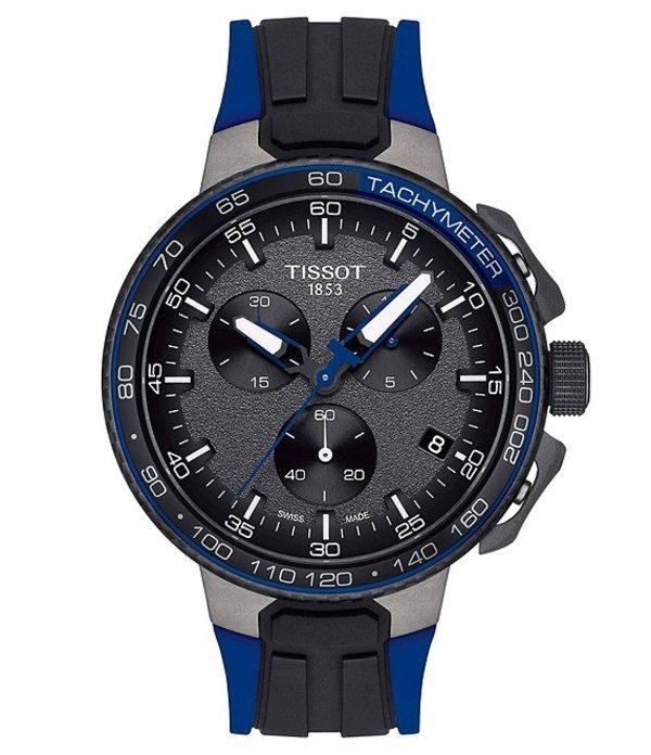 ティソット メンズ 腕時計 アクセサリー T-Race Cycling Chronograph Watch Black