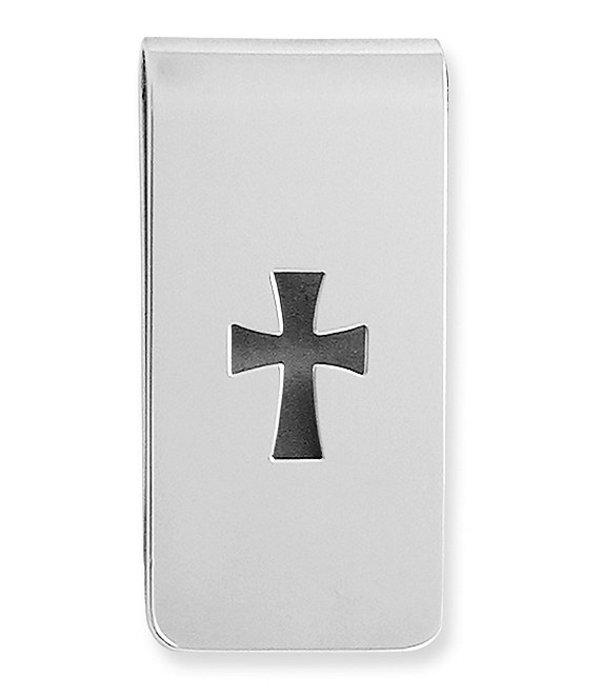 ジェームズ エイヴリー メンズ 財布 アクセサリー Cross Money Clip Sterling Silver