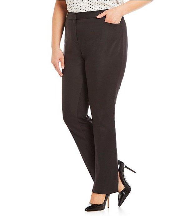 ヴィンスカムート レディース カジュアルパンツ ボトムス Plus Size Front Zip Pant Rich Black