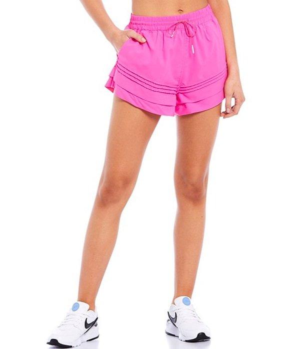 フリーピープル レディース ハーフパンツ・ショーツ ボトムス FP Movement Check It Out Short Miami Pink