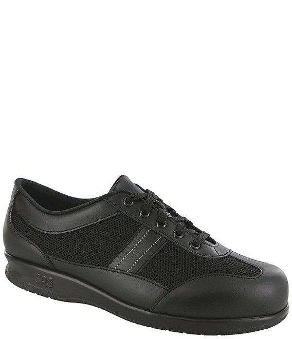 サス レディース スニーカー シューズ FT Mesh & Leather Sneakers FT Mesh Black