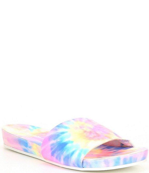 ジャンビニ レディース サンダル シューズ Summatime Tie Dye Banded Slides Bright/Multi