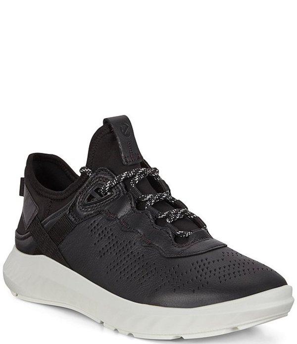 エコー レディース スニーカー シューズ St.1 Lite Leather Sneakers Black/Black