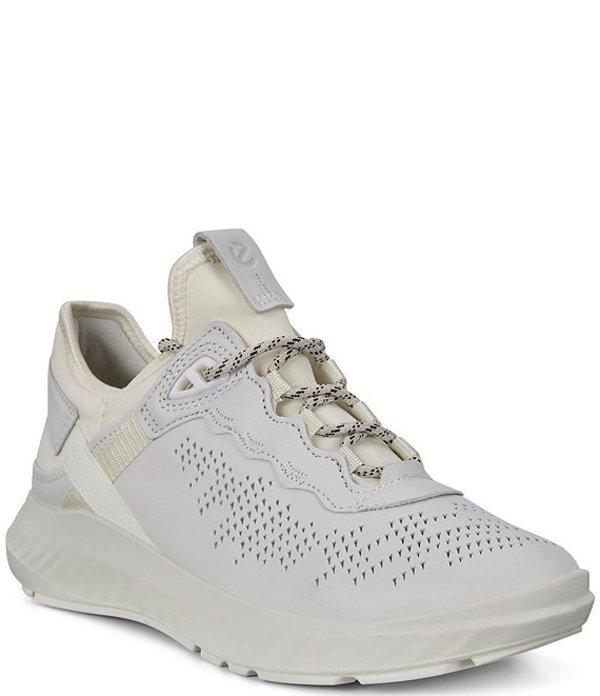 エコー レディース スニーカー シューズ St.1 Lite Leather Sneakers White/White