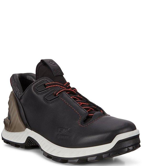 エコー レディース スニーカー シューズ Women's Exohike Leather Low Sneakers Black