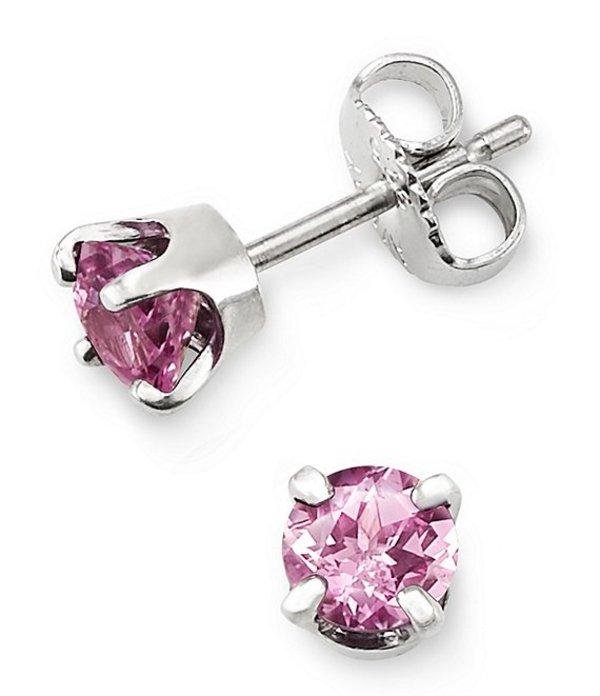 ジェームズ エイヴリー レディース ピアス・イヤリング アクセサリー Pink Sapphire October Birthstone Ear Posts Pink Sapphire