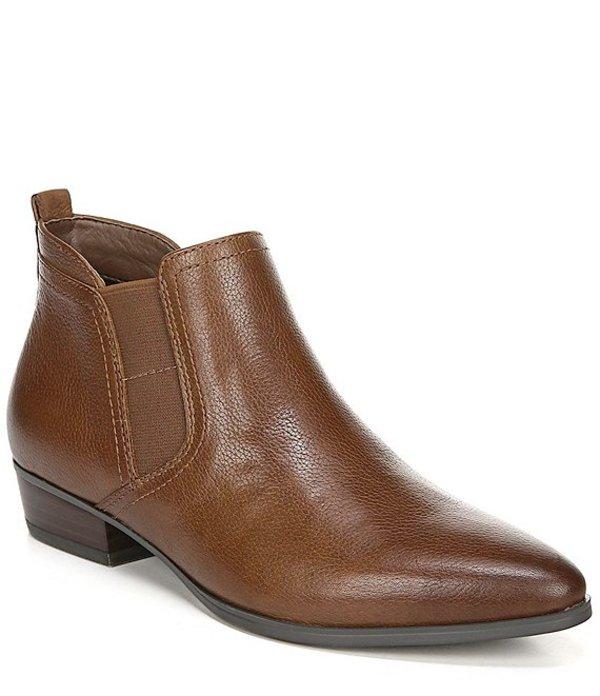 ナチュライザー レディース ブーツ・レインブーツ シューズ Becka Leather Booties Cinnamon Leather