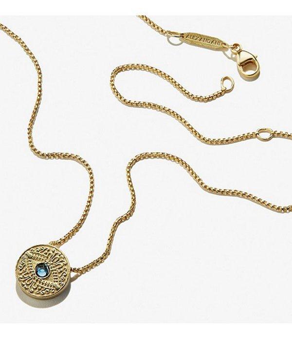 アレックスアンドアニ レディース ネックレス・チョーカー・ペンダントトップ アクセサリー Evil Eye Adjustable Necklace Gold