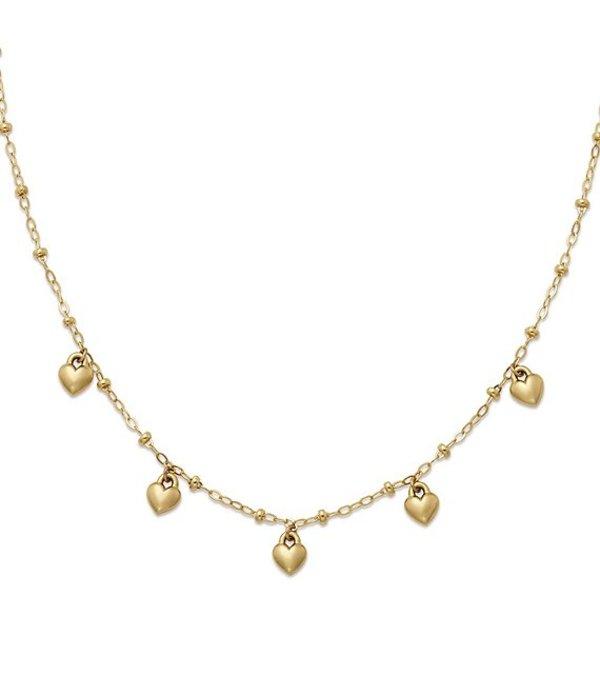 ジェームズ エイヴリー レディース ネックレス・チョーカー・ペンダントトップ アクセサリー Heart Drops Necklace 14K Gold