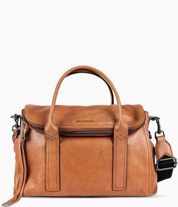 エイミー ケステンバーグ レディース ハンドバッグ バッグ On My Way Satchel Bag Camel
