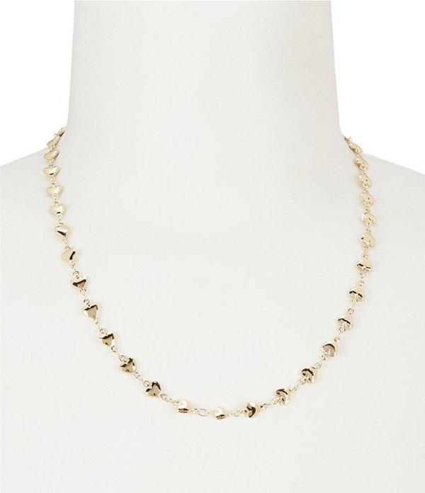 アレックスアンドアニ レディース ネックレス・チョーカー・ペンダントトップ アクセサリー Heart Chain Necklace Shiny Gold