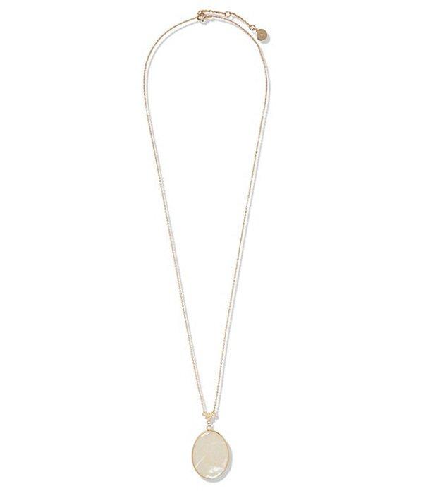 ヴィンスカムート レディース ネックレス・チョーカー・ペンダントトップ アクセサリー Long Pendant Necklace Gold