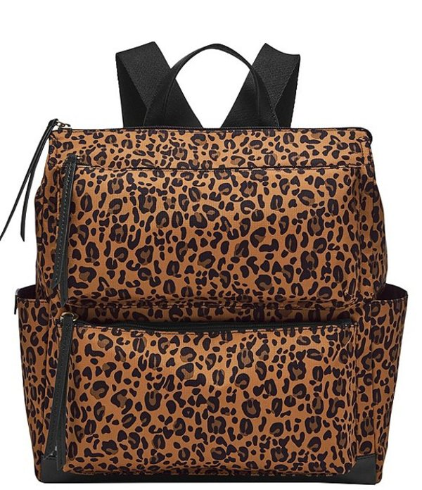 フォッシル レディース バックパック・リュックサック バッグ Jenna Cheetah Print Backpack Cheetah