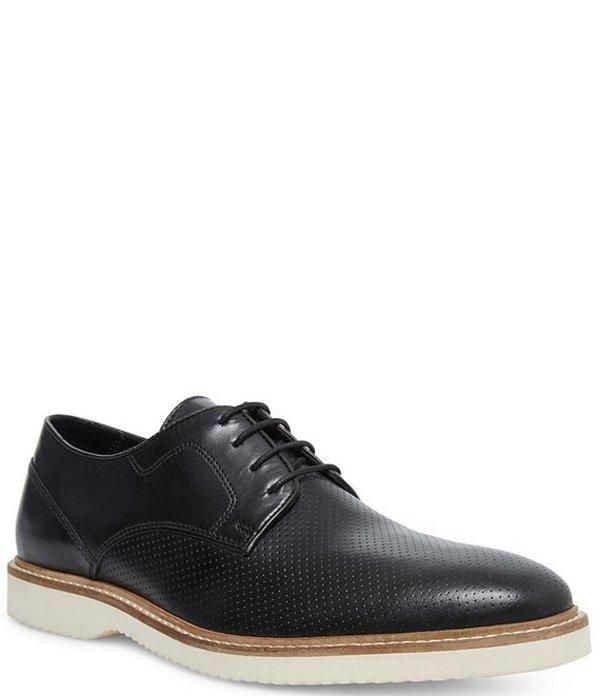スティーブ マデン メンズ ドレスシューズ シューズ Men's Whitby Leather Oxfords Black