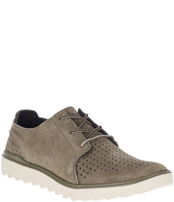メレル メンズ ドレスシューズ シューズ Men's Downtown Lace Casual Shoes Olive