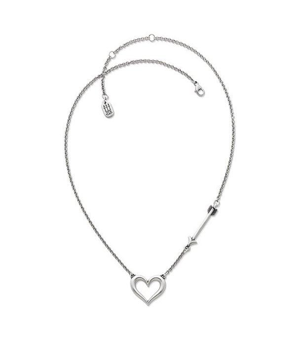 ジェームズ エイヴリー レディース ネックレス・チョーカー・ペンダントトップ アクセサリー Love Struck Heart Necklace Silver