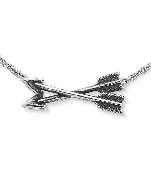 ジェームズ エイヴリー レディース ネックレス・チョーカー・ペンダントトップ アクセサリー Crossed Paths Friendship Necklace Sterling Silver