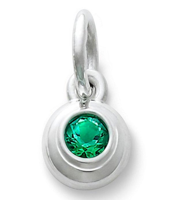 ジェームズ エイヴリー レディース ネックレス・チョーカー・ペンダントトップ アクセサリー Remembrance Pendant May Birthstone with Lab-Created Emerald Emerald/Silver