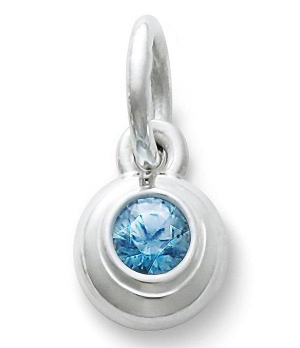 ジェームズ エイヴリー レディース ネックレス・チョーカー・ペンダントトップ アクセサリー Remembrance Pendant December Birthstone with Blue Zircon Blue Zircon/Silver