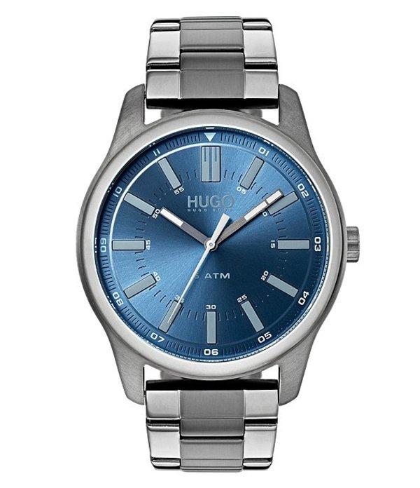 ヒューゴボス メンズ 腕時計 アクセサリー HUGO HUGO BOSS #Rise Grey Watch Grey