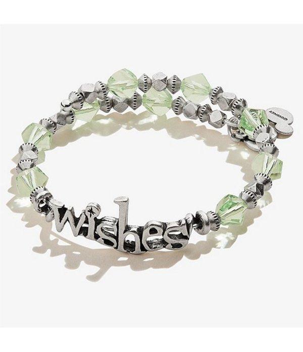 アレックスアンドアニ レディース ブレスレット・バングル・アンクレット アクセサリー DisneyR Wishes Beaded Wrap Bracelet Silver