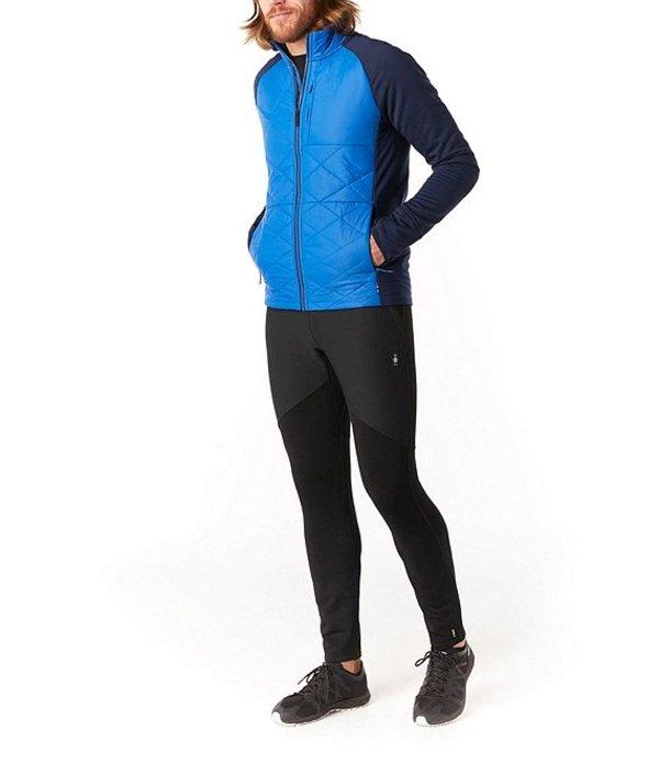 スマートウール メンズ ジャケット・ブルゾン アウター Smartwool Smartloft 120 Wind-Resistant Full-Zip Jacket Light Alpine Blue