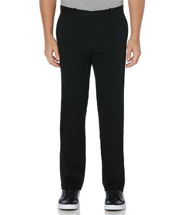 ペリーエリス メンズ カジュアルパンツ ボトムス Big & Tall Wrinkle-Resistant Water-Repellent Solid Stretch Chino Pants Black