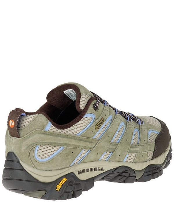 メレル レディース スニーカー シューズ Women's Moab 2 Waterproof Suede and Mesh Hiking Shoes Dusty OliveDH29WIbeEY