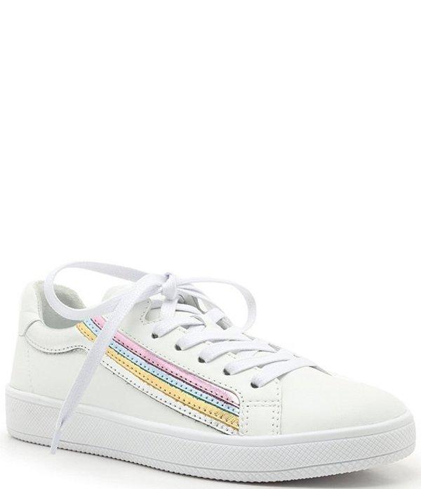 シュッツ レディース スニーカー シューズ Sahara Rainbow Leather Sneakers White