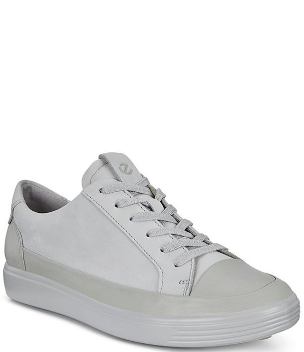 エコー レディース スニーカー シューズ Soft 7 Mono Leather Sneakers Concrete
