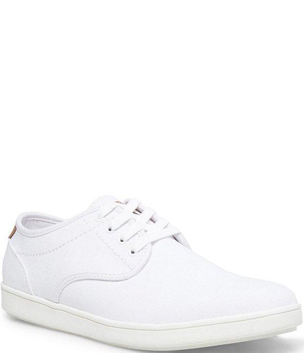 スティーブ マデン メンズ スニーカー シューズ Men's Fenta Sneakers White Canvas