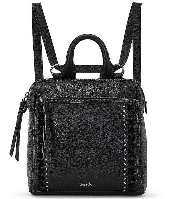 ザサック レディース バックパック・リュックサック バッグ Loyola Mini Convertible Backpack Black