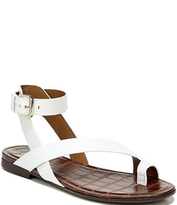 ナチュライザー レディース サンダル シューズ Sally Leather Banded Toe Ring Sandals White