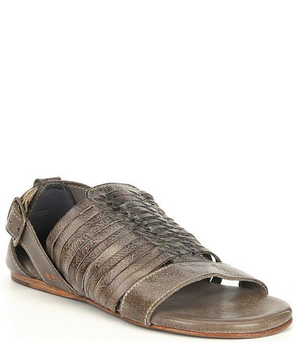 ベッドステュ レディース サンダル シューズ Ingritt Woven Tanned Leather Huarache Sandals Taupe DD