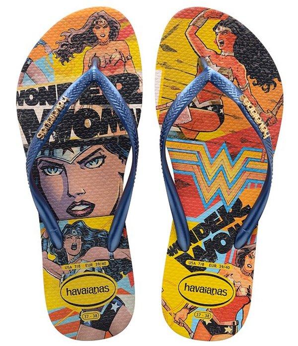 ハワイアナス レディース サンダル シューズ Women's Slim Wonder Woman Flip Flops Ballet Rose