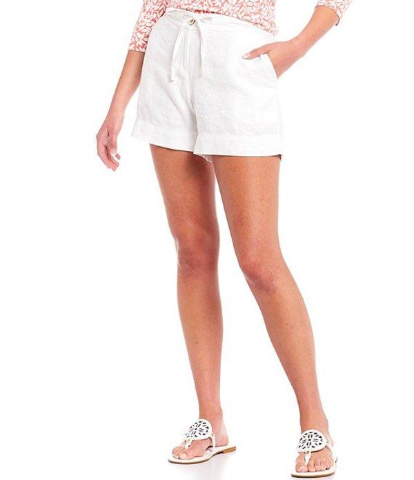 トッミーバハマ レディース ハーフパンツ・ショーツ ボトムス Palmbray Tie Waist Short White
