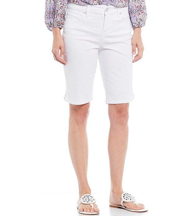 コード ブルー レディース ハーフパンツ・ショーツ ボトムス Chelsea Lace Up Hem Detail Bermuda Shorts Bright White